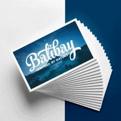 Balibay Geschenkgutschein blau
