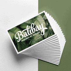 Balibay Geschenkgutschein grüner Hintergrund