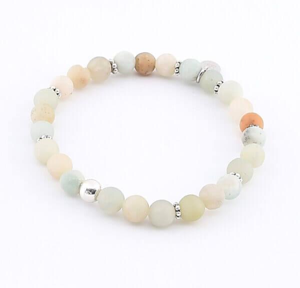 Damen Armband mit Amazonit Steinen